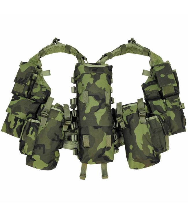 Tactical Vest, M 95 CZ camouflage, met verschillende vakken