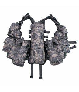 Tactical Vest, AT-digital, met verschillende vakken