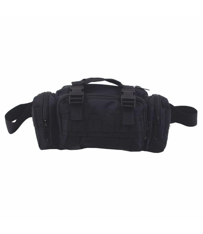 Heup- en schoudertas, Zwart