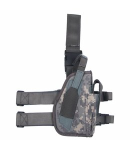 Tactical Holster, AT-digital, leg- and belt fixing, right