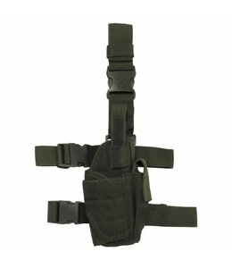 Tactical Holster, OD Groen, adjustable