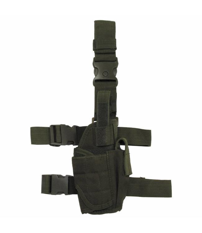 Tactical Holster, OD Groen, adjustable