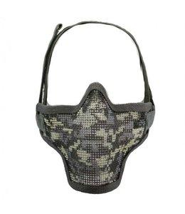 Airsoft metal mesh masker acu