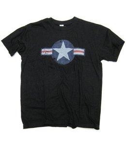 T-shirt United States Air Force (USAF) Zwart