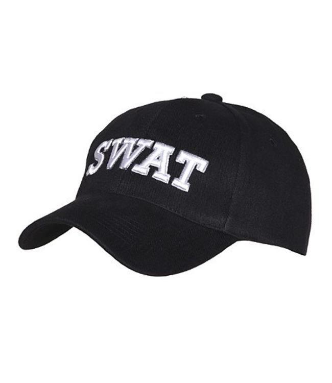 Pet (verstelbaar) Swat Zwart