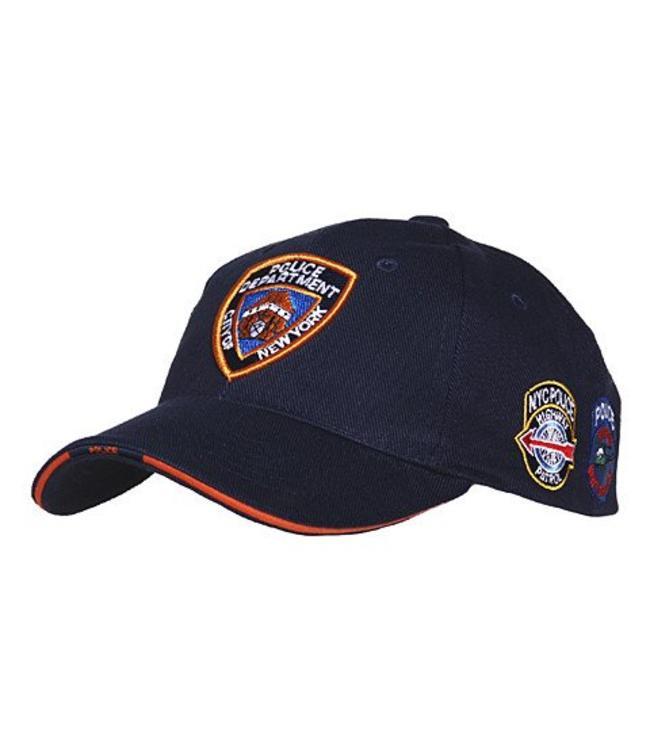 Pet (verstelbaar) NYPD patches