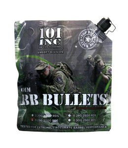 Airsoft extreme. 3000 BB s 0.25g 6mm bag Grey biologisch