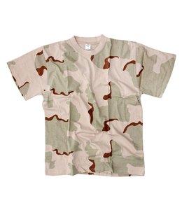 T-shirt camo 3 clr. desert 3 clr. desert