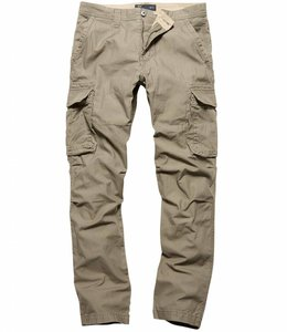 Vintage Industries Reef pants olive cargo broek