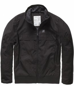 Vintage Industries Ronan jacket winterjas black
