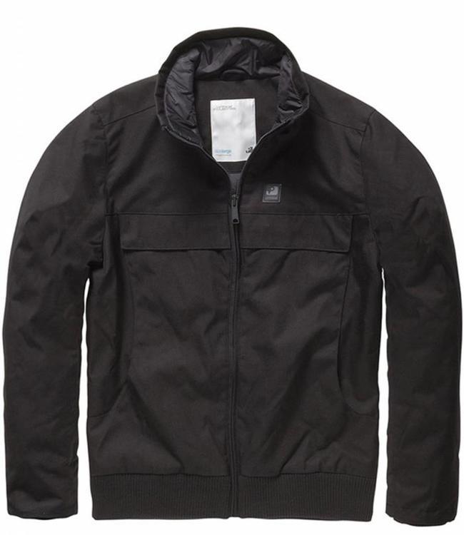 Vintage Industries Ronan jacket winterjas black