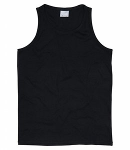 Vintage Industries Bryden singlet black