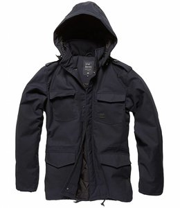 Vintage Industries Darren parka winterjas navy