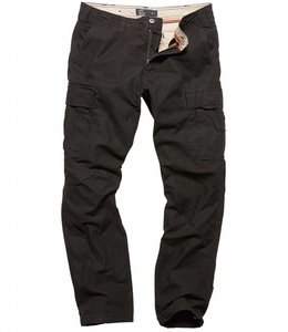 Vintage Industries Reydon BDU premium pants off black cargo broek