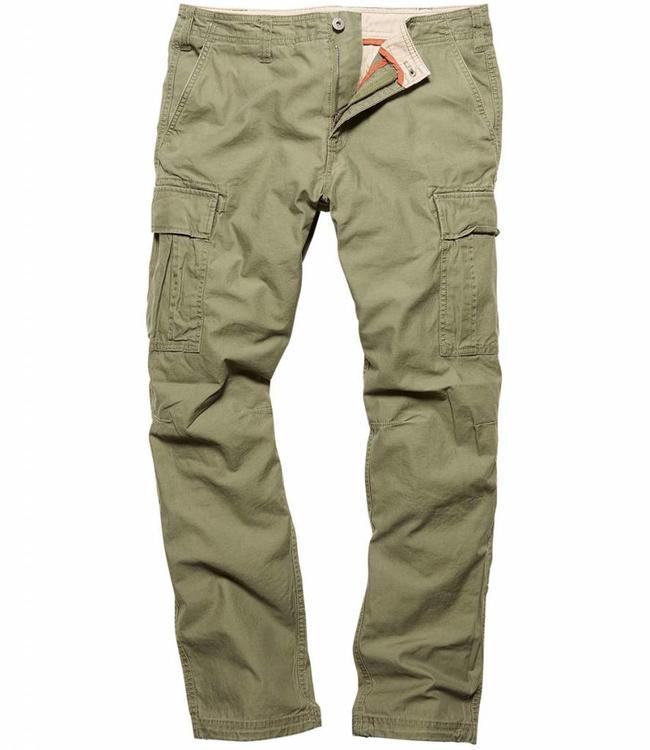 Vintage Industries Reydon BDU premium pants olive drab cargo broek