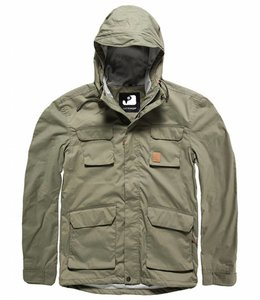 Vintage Industries Tyler jacket zomerjas light olive