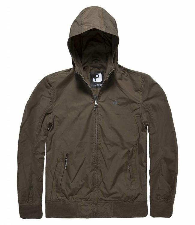 Vintage Industries Denver jacket zomerjas dark olive
