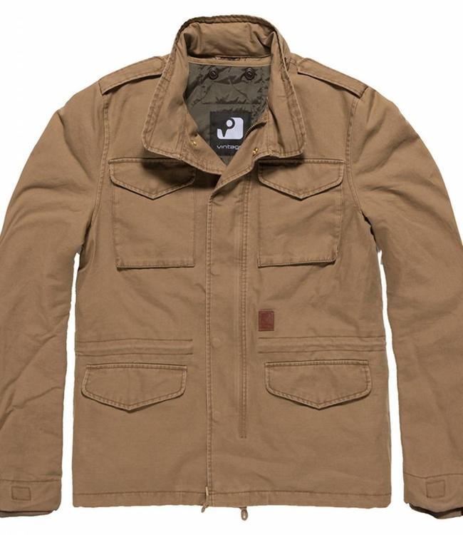 Vintage Industries Dave M65 jacket winterjas khaki