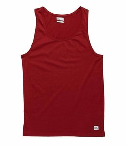 Vintage Industries Cruzer singlet red