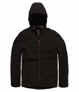 Vintage Industries Dawson jacket zomerjas black