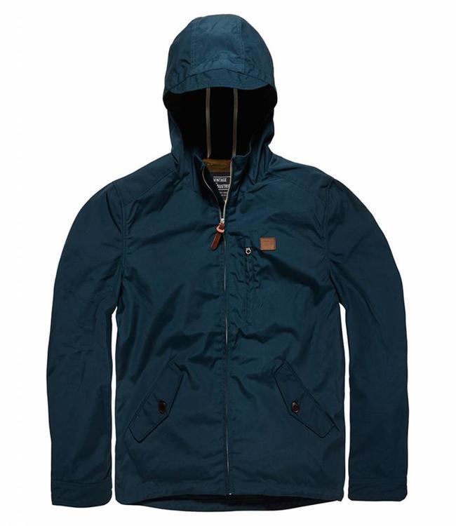Vintage Industries Haven jacket zomerjas teal