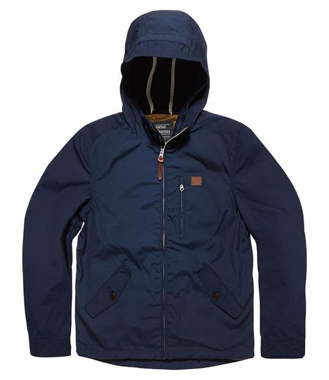 Vintage Industries Haven jacket zomerjas navy