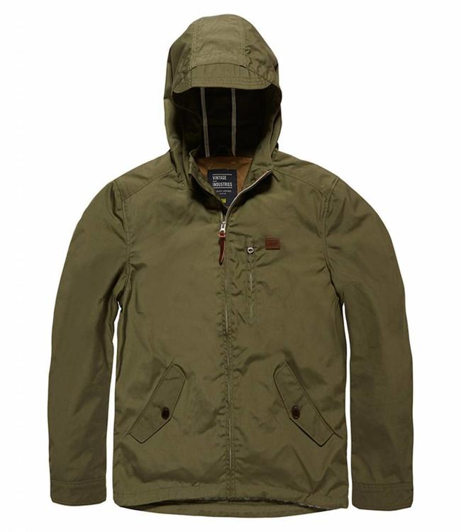 Vintage Industries Haven jacket zomerjas olive