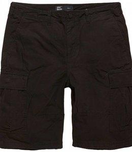 Vintage Industries BDU shorts korte broek black