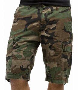 Vintage Industries BDU shorts korte broek woodland
