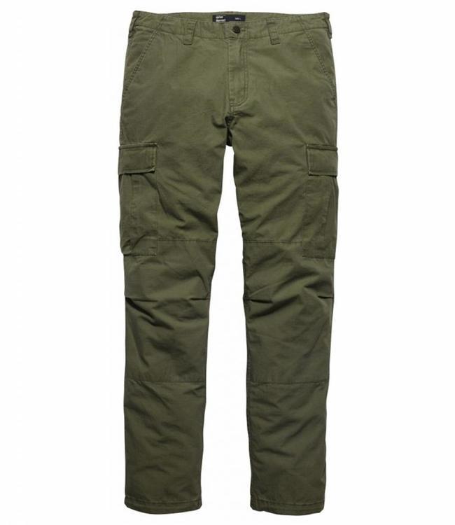 Vintage Industries Tyrone BDU pants olive drab cargo broek