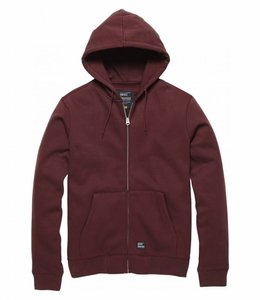 Vintage Industries Redstone hooded trui cranberry