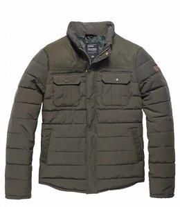 Vintage Industries Beeston jacket winterjas drab
