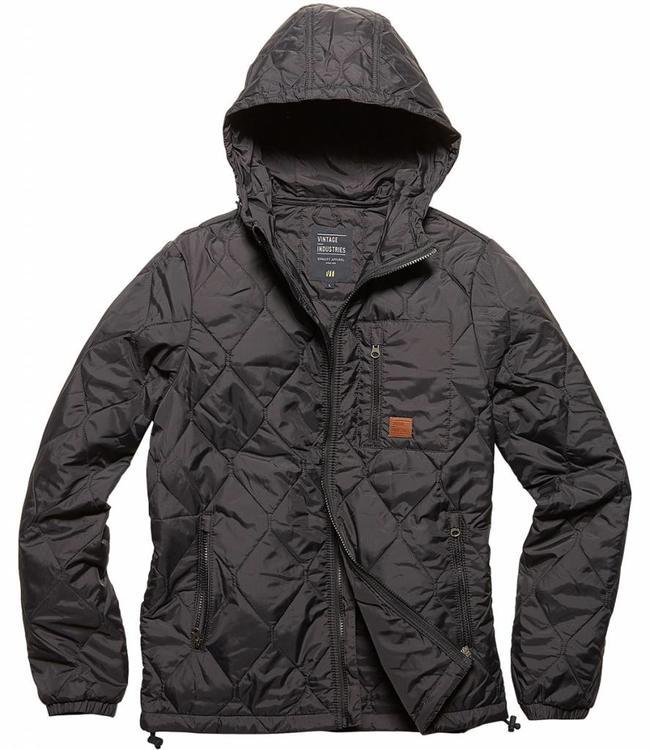 Vintage Industries Lilestone jacket winterjas black