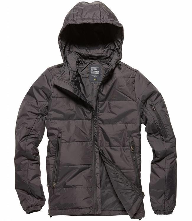 Vintage Industries Newcourt jacket winterjas black