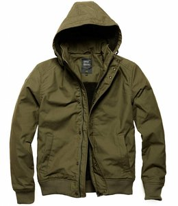 Vintage Industries Hudson jacket winterjas dark olive