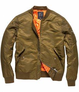 Vintage Industries Welder zomerjas bomberjacket olive drab