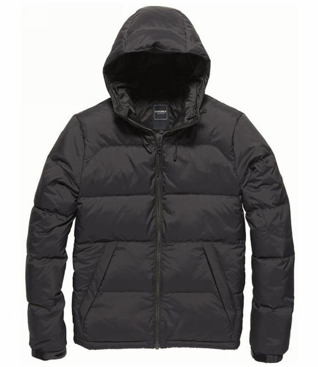 Vintage Industries Murray jacket Winterjas black