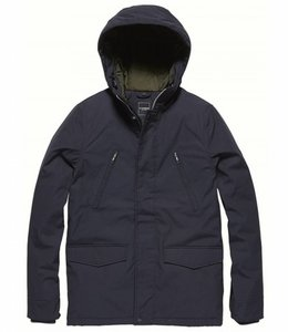Vintage Industries Tavis parka Winterjas navy