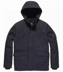 Vintage Industries Fairford parka Winterjas navy