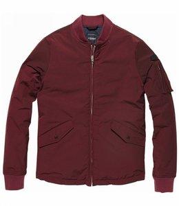 Vintage Industries Groove jacket Zomerjas burgundy