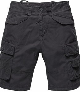 Vintage Industries Shore shorts korte broek anthracite