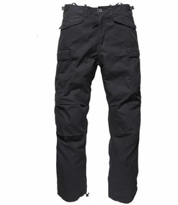 Vintage Industries M65 ripstop pants black cargo broek