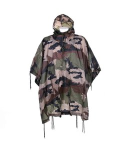 Poncho Recon french camo Ripstop poncho gemaakt van 100% polyester