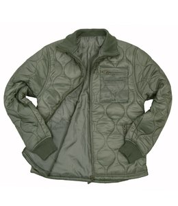 Cold weather jacket Groen