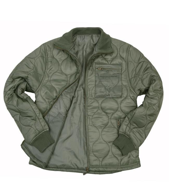 Cold weather jacket isojas Groen