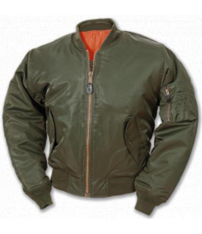 MA-1 bomberjacket Groen