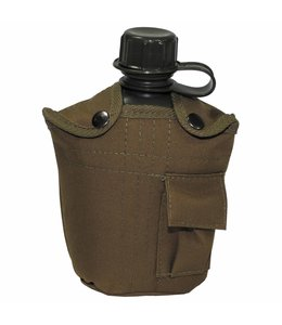 US veldfles, coyote tan, 1 l, cover