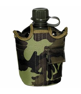 US veldfles,  1 l, M 95 CZ camouflage, cover