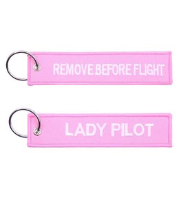 Sleutelhanger Remove before flight + lady pilot Misc.
