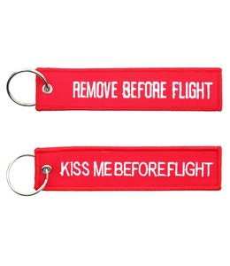 Sleutelhanger Remove before flight + Kiss me before flight Misc.